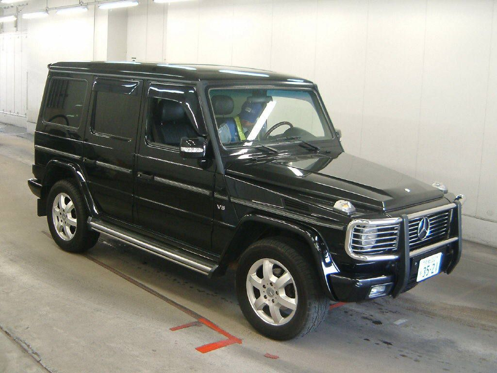 used mercedes benz g500 for sale at pokal japanese used