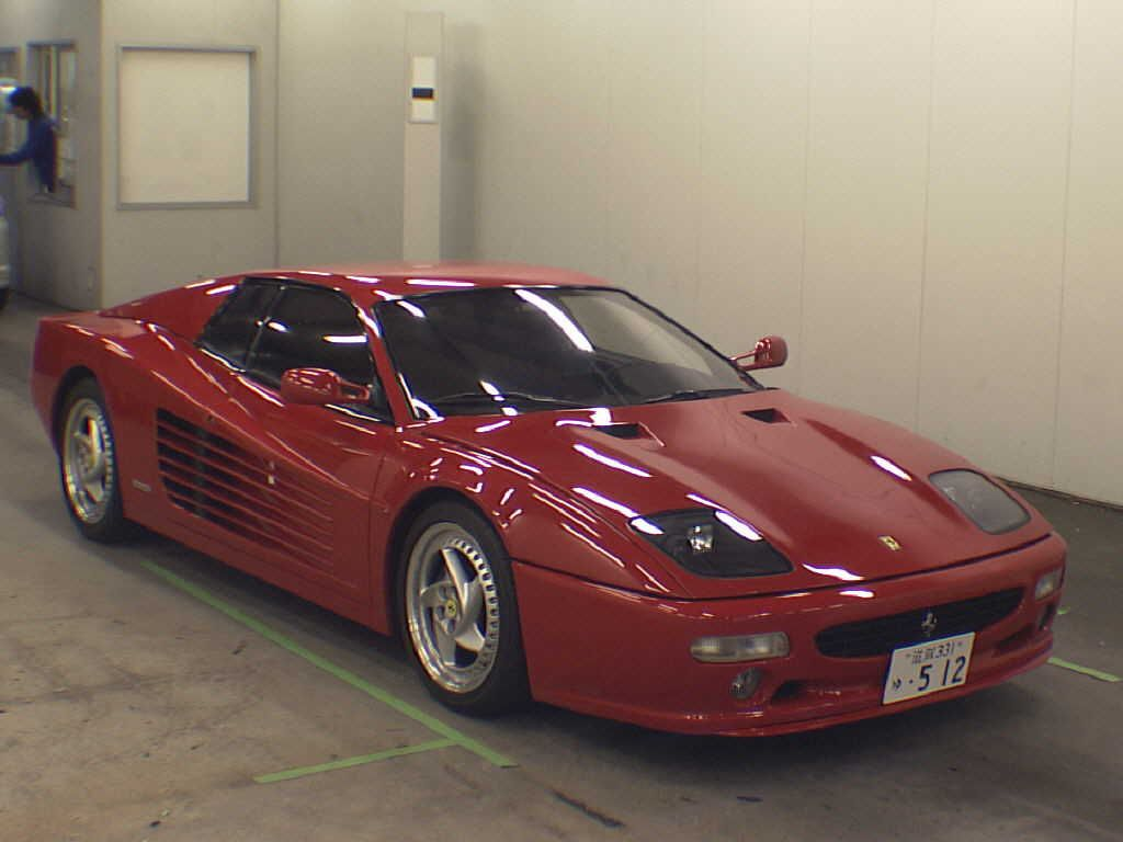 used ferrari 512m for sale at pokal japanese used car. Cars Review. Best American Auto & Cars Review
