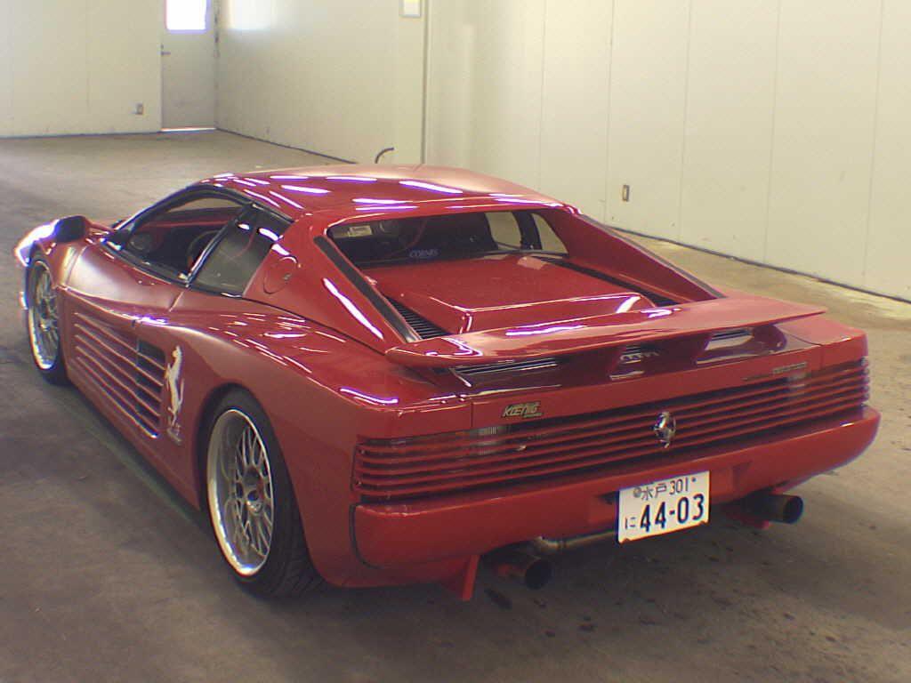 Used ferrari testarossa for sale at pokal japanese used car 1991 ferrari testarossa vanachro Images