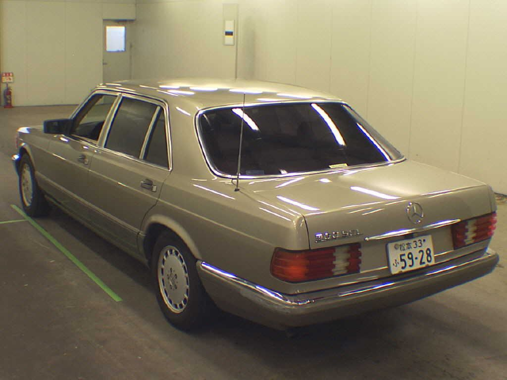 used mercedes benz benz 560sel for sale at pokal japanese used car