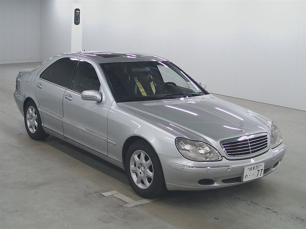 Used mercedes benz s320 for sale at pokal japanese used for Used mercedes benz sale