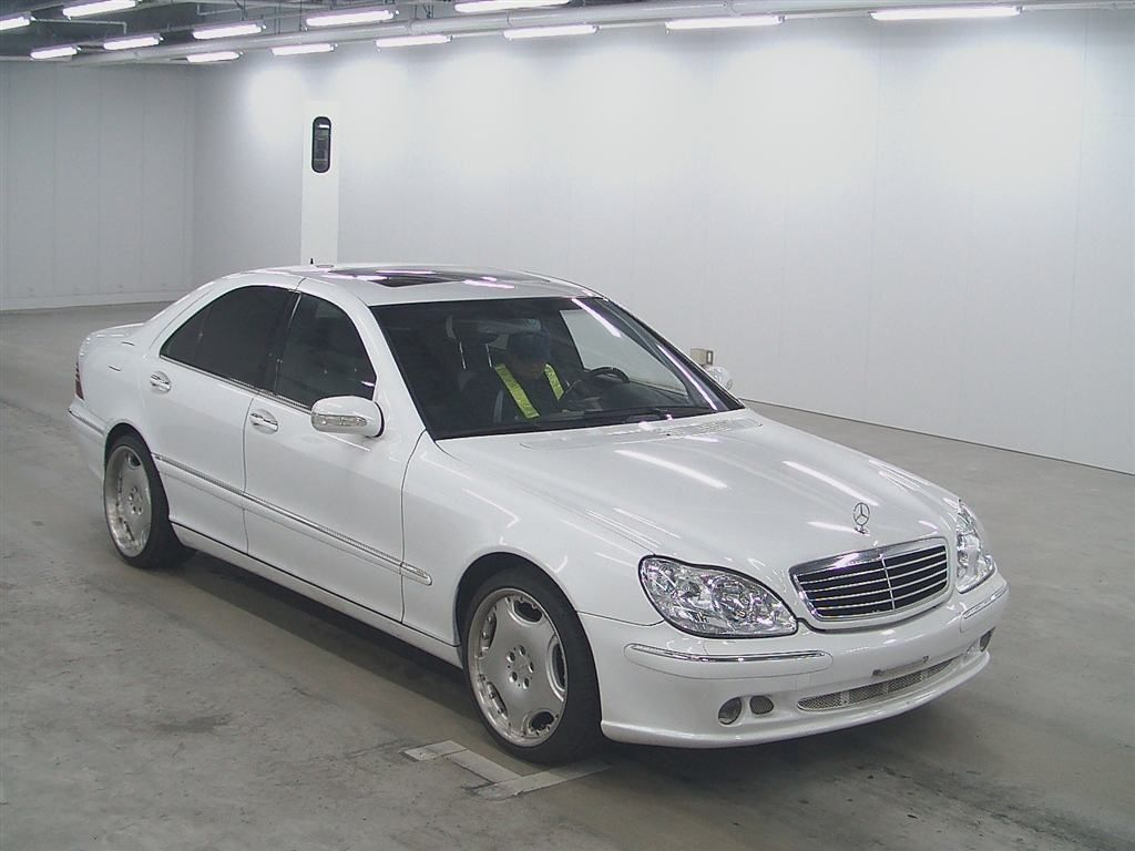 Used mercedes benz s320 for sale at pokal japanese used for Used white mercedes benz for sale