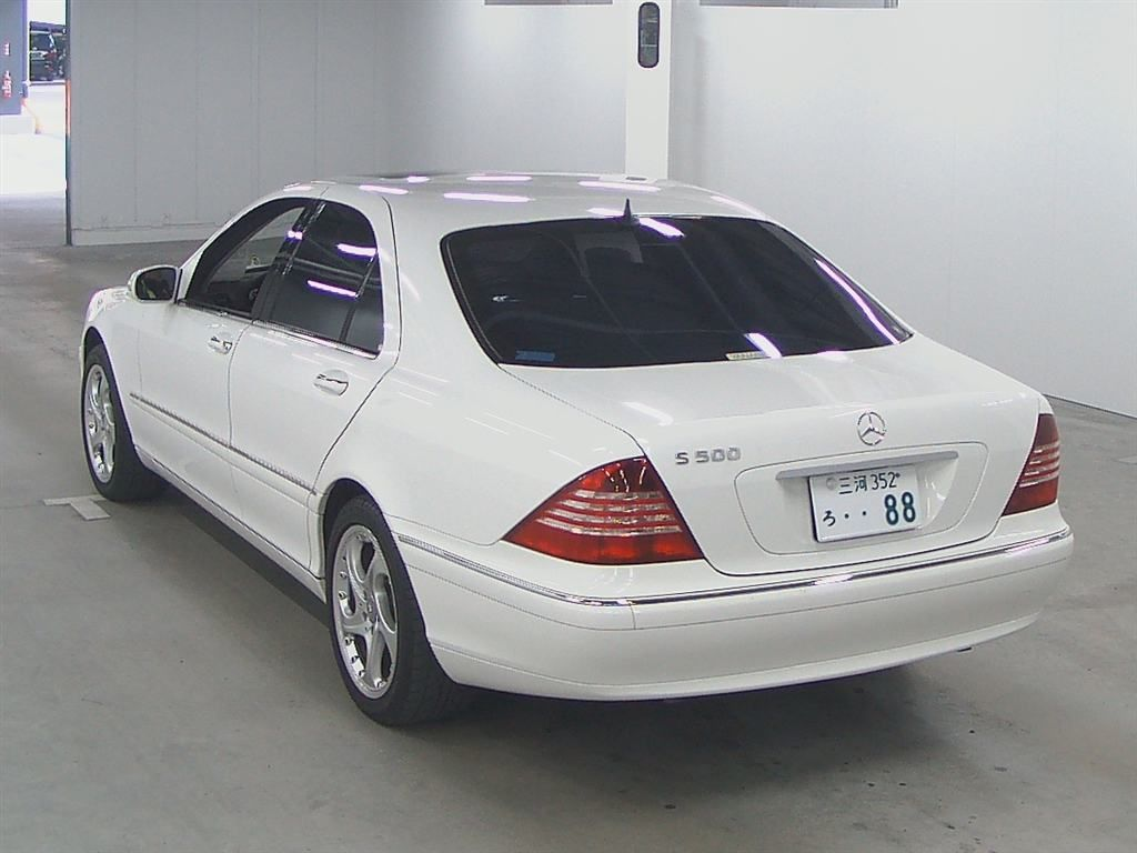 Used mercedes benz s500 for sale at pokal japanese used for Used s500 mercedes benz for sale
