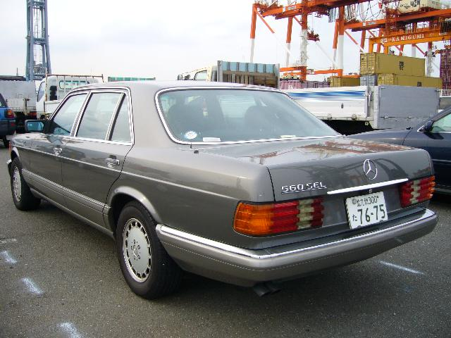 Used Mercedes Benz Benz 560sel For Sale At Pokal Japanese Used Car Exporter Pokal