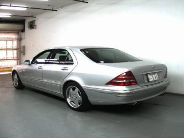 Used Mercedes Benz S320 For Sale At Pokal Japanese Used